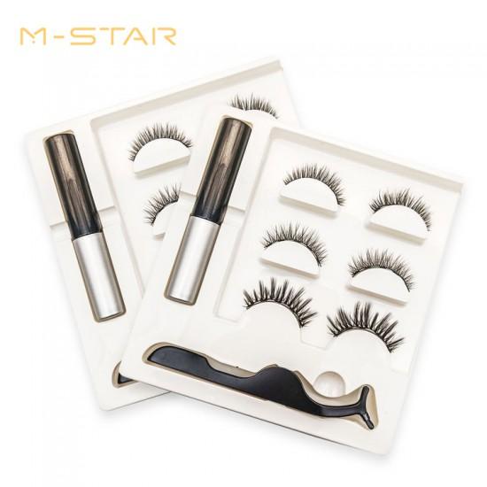 M-STAR Lashes 3Pairs Magnetic Eyelashes Kit - MT3