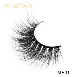 M-STAR Lashes 3D  Faux Mink False Eyelashes - MF01
