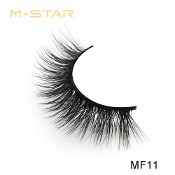 M-STAR Lashes 3D  Faux Mink False Eyelashes - MF11