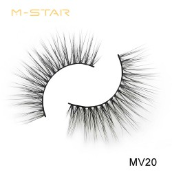 M-STAR Lashes 3D Silk Lashes-MV20