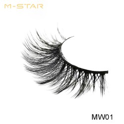 M-STAR Lashes 3D  Synthetic False Eyelashes - MW01