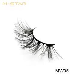 M-STAR Lashes 3D  Synthetic False Eyelashes - MW05
