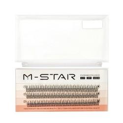 M-STAR Hot Melt Eyelash 30 D Lashes-0.07mm